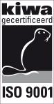 KIWA ISO-9001 logo